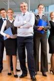 Geschäftsgruppe stockbild