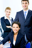 Geschäftsgruppe stockfotografie
