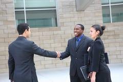 Geschäftsgruppe-Sitzung im Büro lizenzfreies stockfoto