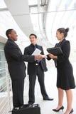 Geschäftsgruppe-Sitzung im Büro Lizenzfreie Stockbilder