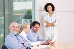 Geschäftsgruppesitzung Lizenzfreie Stockfotos