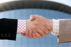 Geschäftshändedruck Lizenzfreies Stockfoto