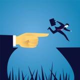 Geschäftsherausforderungskonzept Lizenzfreies Stockfoto