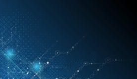 Geschäftshintergrund der neuen Technologie Stockfotos
