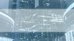Geschäftshintergrund für Videopräsentation stock video