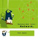 Geschäftsideen-Reihe Netz Lizenzfreie Stockbilder