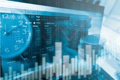 Geschäftsideen und Wettbewerbs- und Strategieplan Lizenzfreie Stockbilder