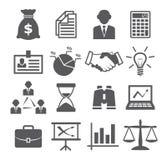 Geschäftsikonen Stockbilder