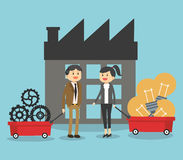 Geschäftsikonendesign Stockbilder