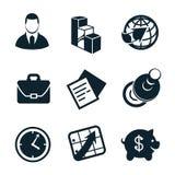 Geschäftsikonensatzteil 4 Lizenzfreies Stockfoto