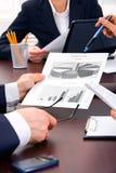 Geschäftsinteraktion Stockbilder