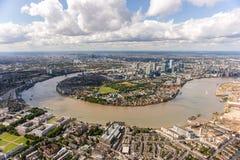 Geschäftskapital von Europa, London Lizenzfreies Stockfoto