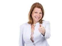 Geschäftskaukasierfrau stockbild