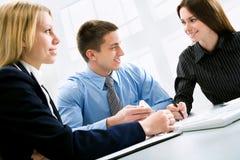 Geschäftskollegen lizenzfreies stockbild