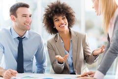 Geschäftskollegen stockfoto