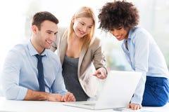 Geschäftskollegen stockbilder