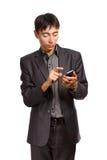 Geschäftskommunikation Lizenzfreies Stockbild