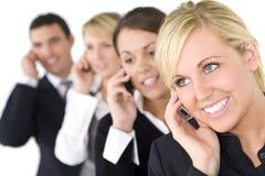 Geschäftskommunikationen Lizenzfreies Stockfoto