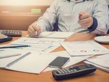 Geschäftskonzept der Bürofunktion Stockfotos