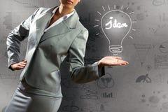 Geschäftskonzept getrennt auf Weiß Stockfoto