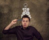 Geschäftskonzept: Ideen Lizenzfreie Stockbilder