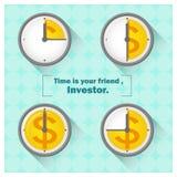 Geschäftskonzept Ideen-Geld und Investition 3 Stockfoto