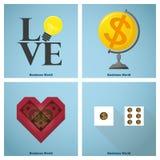 Geschäftskonzept Ideen-Grafik Stockfoto