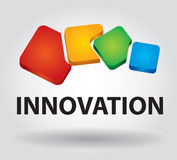 Innovationsikone Stockbild