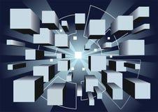 Geschäftskonzepthintergrund Stockbilder