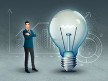 Geschäftskreativität und -innovation stockfoto