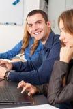 Geschäftslächeln Lizenzfreie Stockfotografie