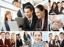 Geschäftsleute lizenzfreies stockfoto