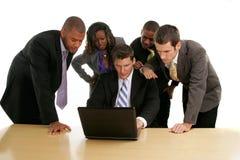 Geschäftsleute stockfotos