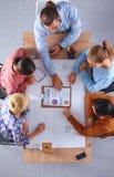 Geschäftsleute auf einer Sitzung Stockfoto