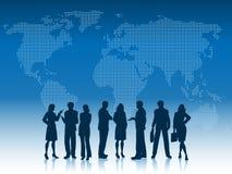 Geschäftsleute der Welt Stockfoto