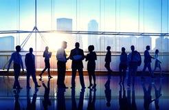 Geschäftsleute der Zusammenarbeits-Team Teamwork Peofessional Concept Lizenzfreie Stockbilder