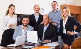 Geschäftsleute, die Bruch haben lizenzfreie stockbilder