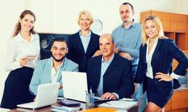 Geschäftsleute, die Bruch haben stockfotografie
