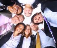 Geschäftsleute, die in der Unordnung stehen lizenzfreie stockfotos