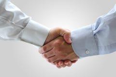Geschäftsleute, die Hände rütteln Lizenzfreies Stockbild
