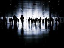 Geschäftsleute Fußgänger Lizenzfreie Stockfotos