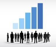 Geschäftsleute Gruppen-Vektor- Lizenzfreie Stockfotografie