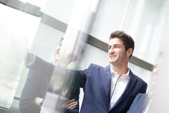 Geschäftsleute Gruppensitzung Lizenzfreies Stockfoto