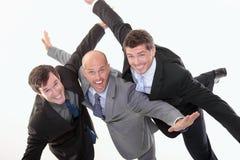 Geschäftsleute haben Spaß Stockbilder