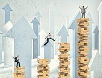 Geschäftsleute Herausforderung Lizenzfreies Stockfoto