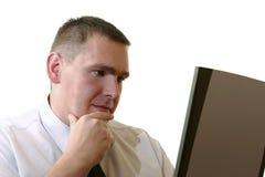 Geschäftsleute - interessante Idee Lizenzfreies Stockfoto