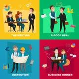 Geschäftsleute Konzept-Satz- Lizenzfreie Stockfotos