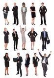 Geschäftsleute, Manager, Leitprogramme lizenzfreies stockbild