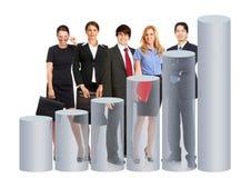Geschäftsleute Team lizenzfreies stockfoto