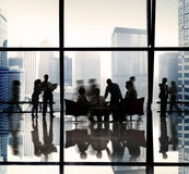 Geschäftsleute Team Discussion Office Concept Lizenzfreies Stockbild
